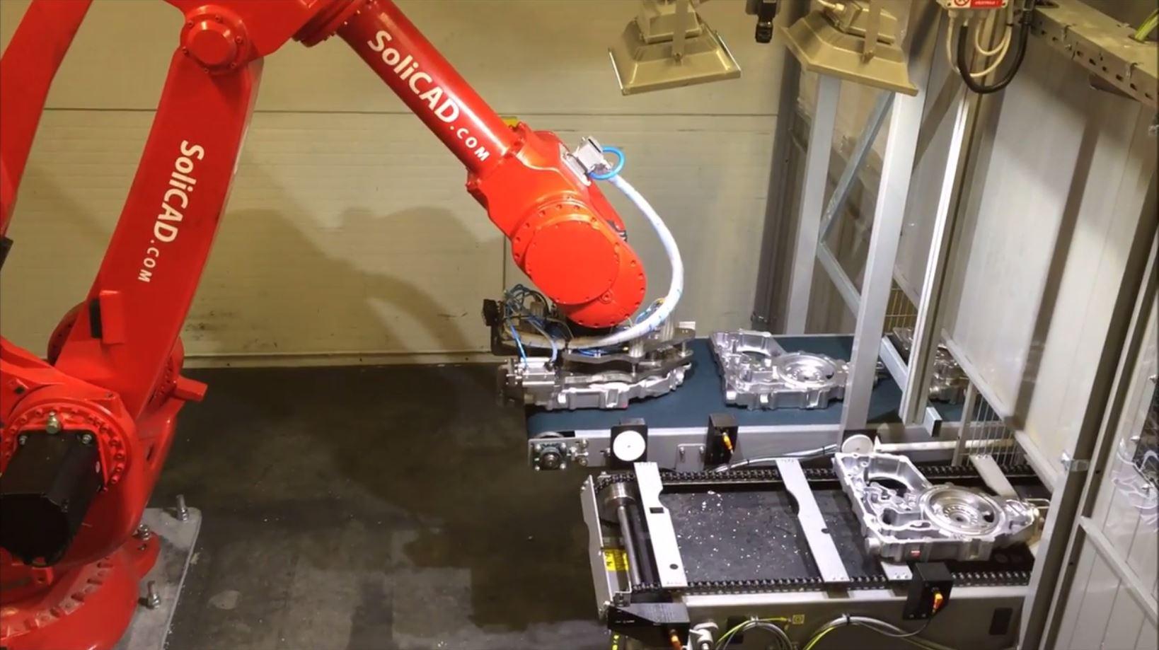 Robotická apretace SoliCAD