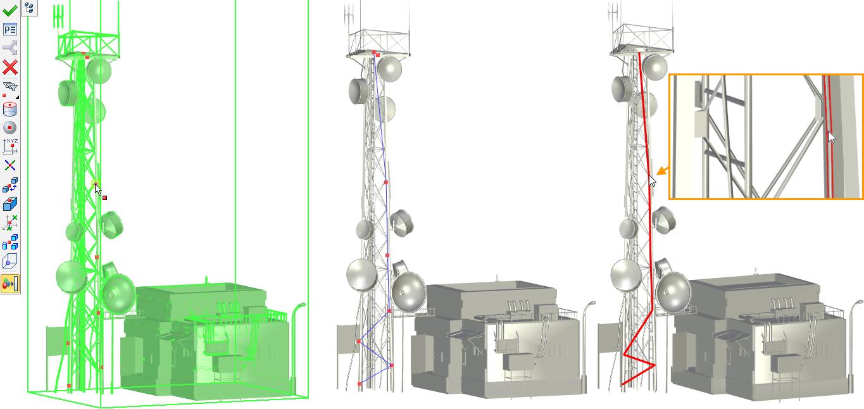 3D body na 3D sítích T-Flex CAD