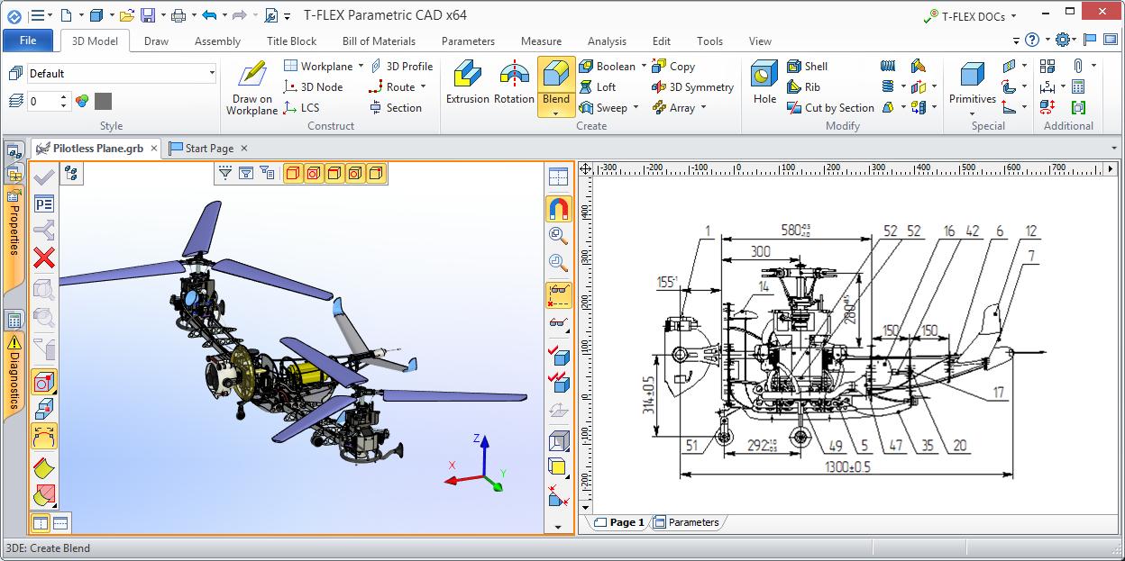 Nový vzhled T-Flex CAD