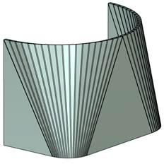 Rozvin kužele T-Flex CAD