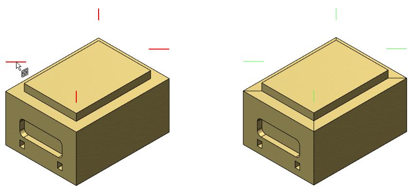 Rozdělení čela otisknutím T-Flex CAD