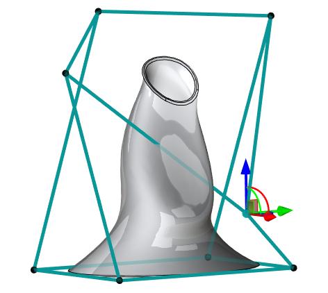 Deformace T-Flex CAD