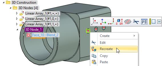 Vytvořit znovu T-Flex CAD