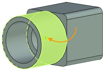 Posun 3D bodu T-Flex CAD