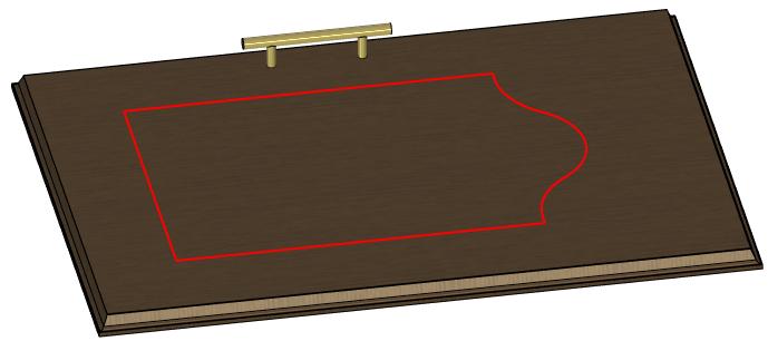 Trajektorie na modelovaném tělese T-Flex CAD