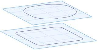 Dva profily T-Flex CAD