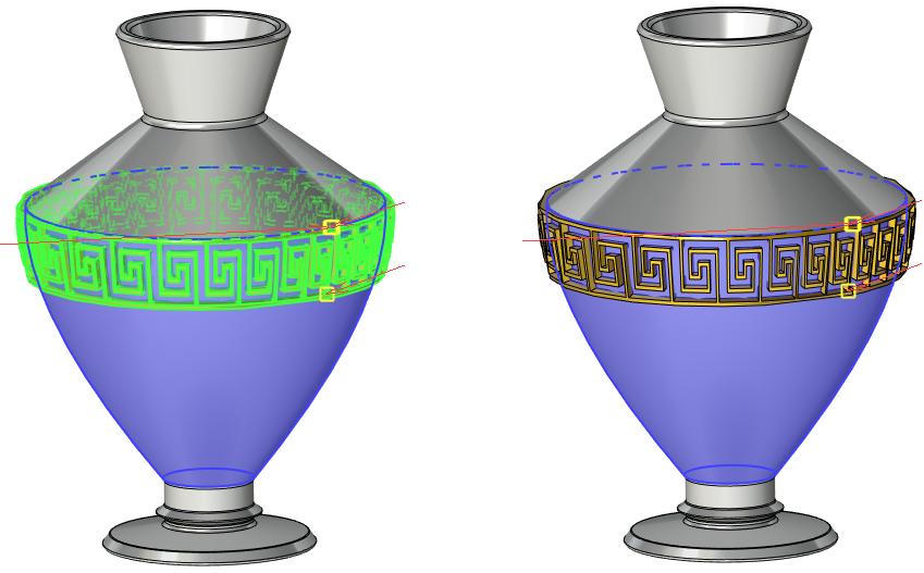 Označení těla T-Flex CAD
