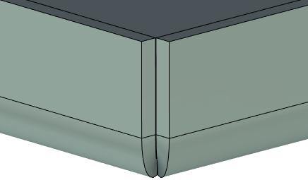 Plechové tělo T-Flex CAD