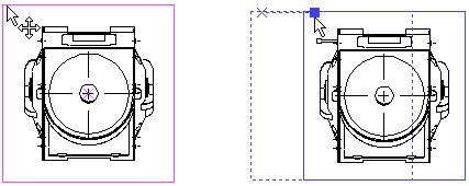 Přesouvání projekcí T-Flex CAD