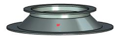 Výběr bodu rozvinu T-Flex CAD