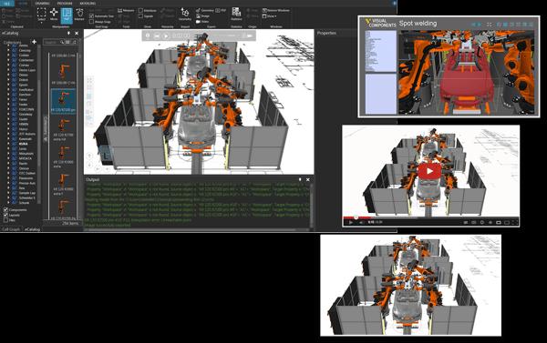 Graficky pokročilé výstupy Visual Components