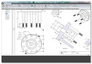 Geomagic Design tvorba 2D dokumentace