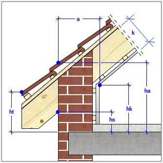 CAD Architecture - střechy