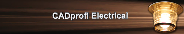 CADprofi Elektro - nadstavba pro progeCAD a AutoCAD