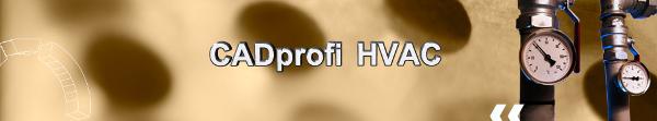 CADprofi HVAC - nadstavba pro progeCAD a AutoCAD