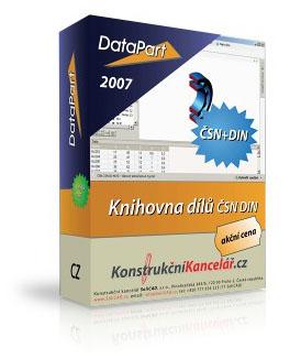 DataPart knihovna normalizovaných částí
