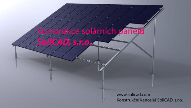 Konstrukce solárních panelů