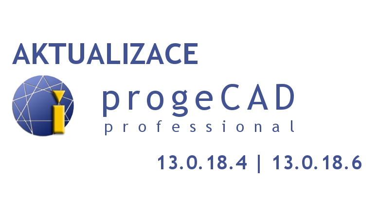 aktualizace progeCAD