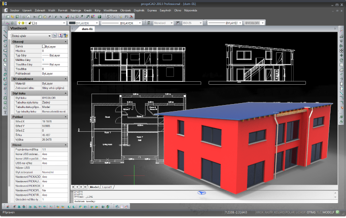 progeCAD Professional 2013 - alternativa AutoCAD
