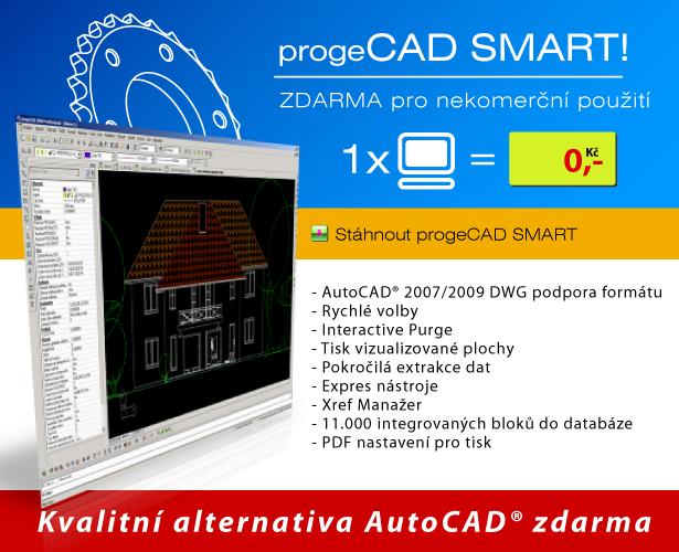 progeCAD Smart! zdarma!