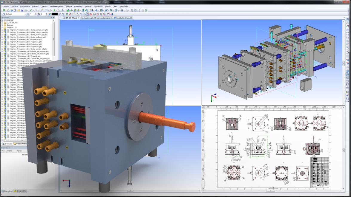T-Flex - profesionální CAD aplikace