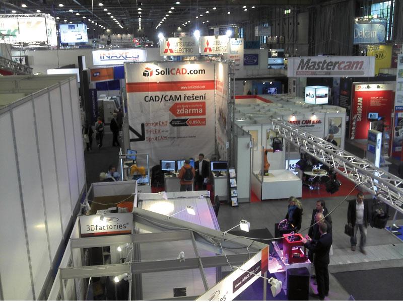 Strojírenský veletrh v Brně 2013 - konstrukční kancelář SoliCAD
