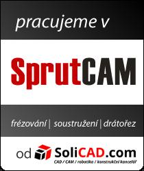 Používáme SprutCAM od SoliCAD.com