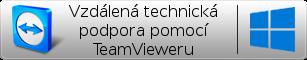 Vzdálená technická podpora pomocí TeamVieweru