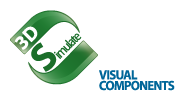 Visual Components 2014 - 3DSimulate